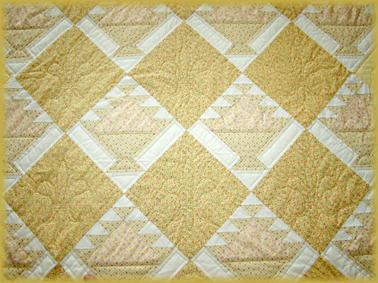 Gele bedsprei - Quilts gele ...