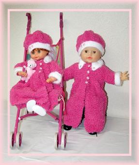 Roze Winterjas